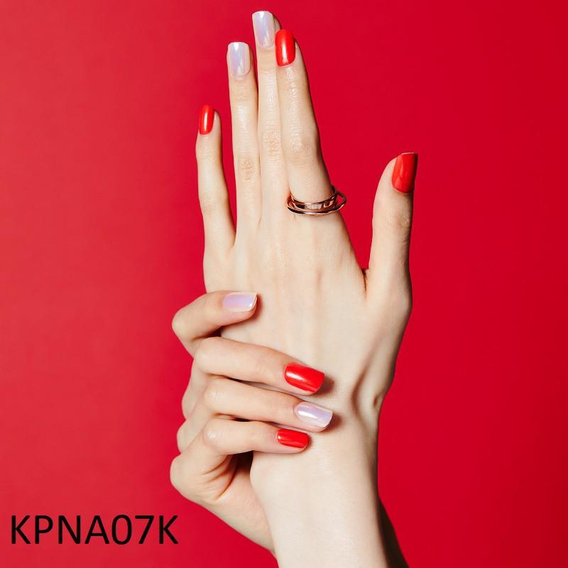 Bộ 30 Móng Tay Gel Dán Press & Go Kiss New York Nail Box - Warm Red (KPNA07K)