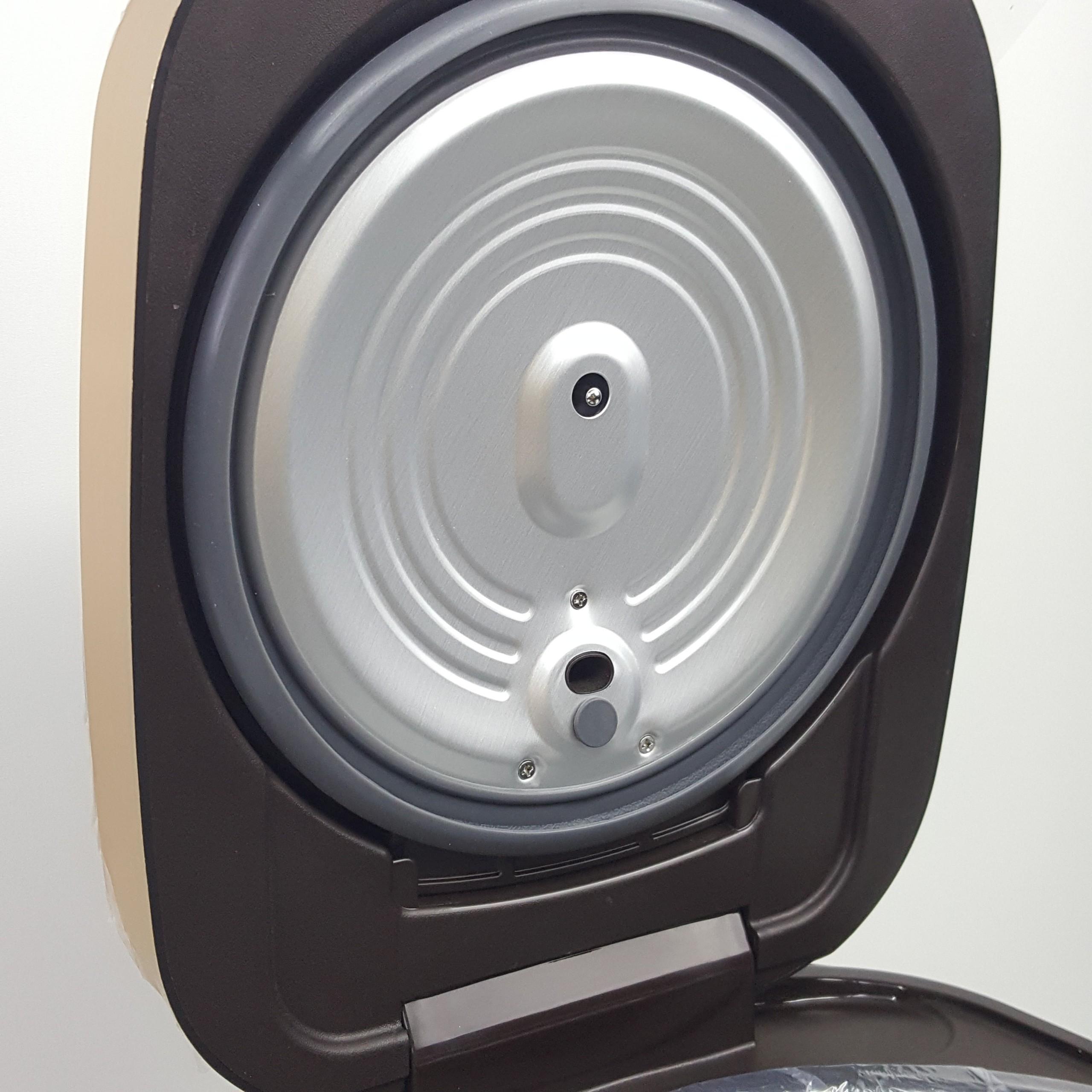Nồi cơm điện MAtika 1,8L 860W nắp gài màu nâu đen MTK - RC1886 - HÀNG CHÍNH HÃNG
