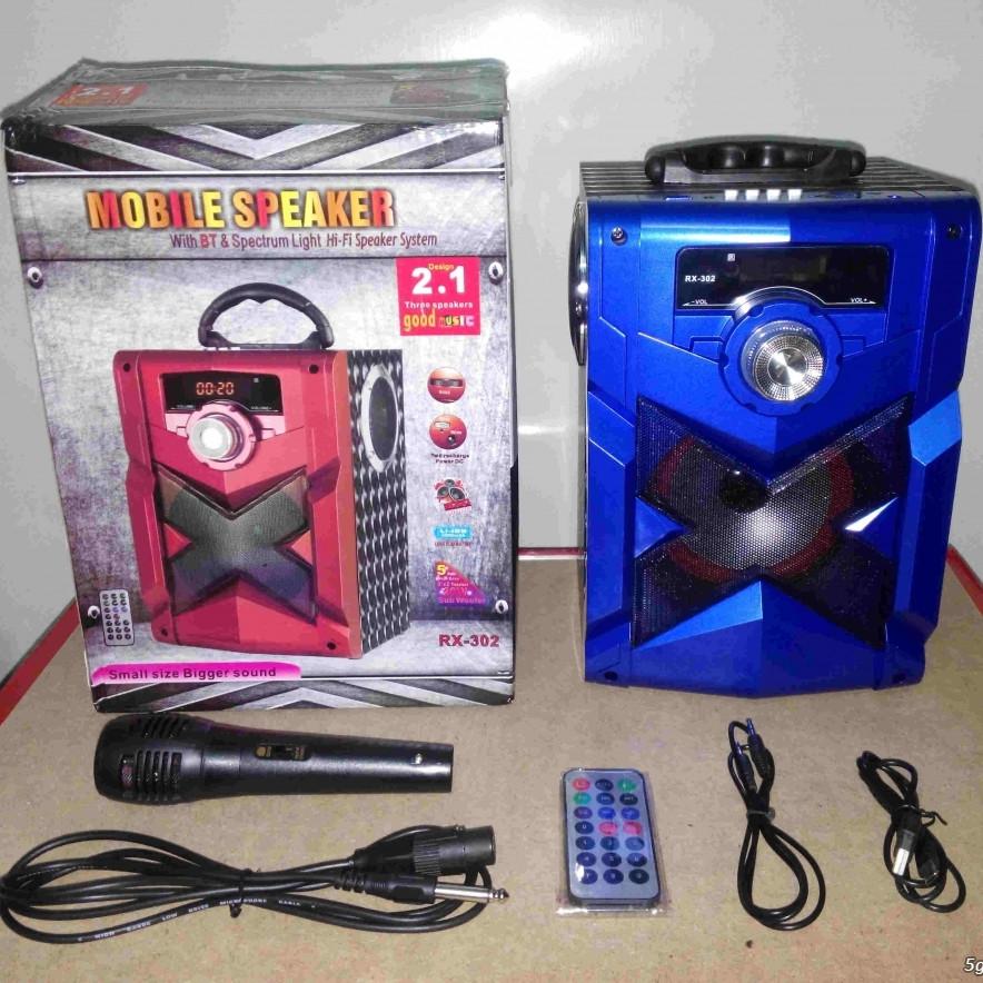 Loa Bluetooth Karaoke RX-302 âm thanh siêu hay