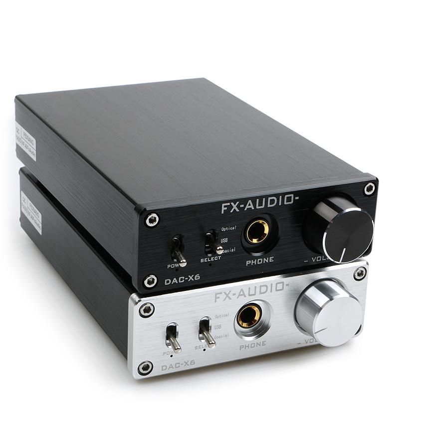 DAC Nghe Nhạc Lossless Fx-Audio Dac X6 Azone
