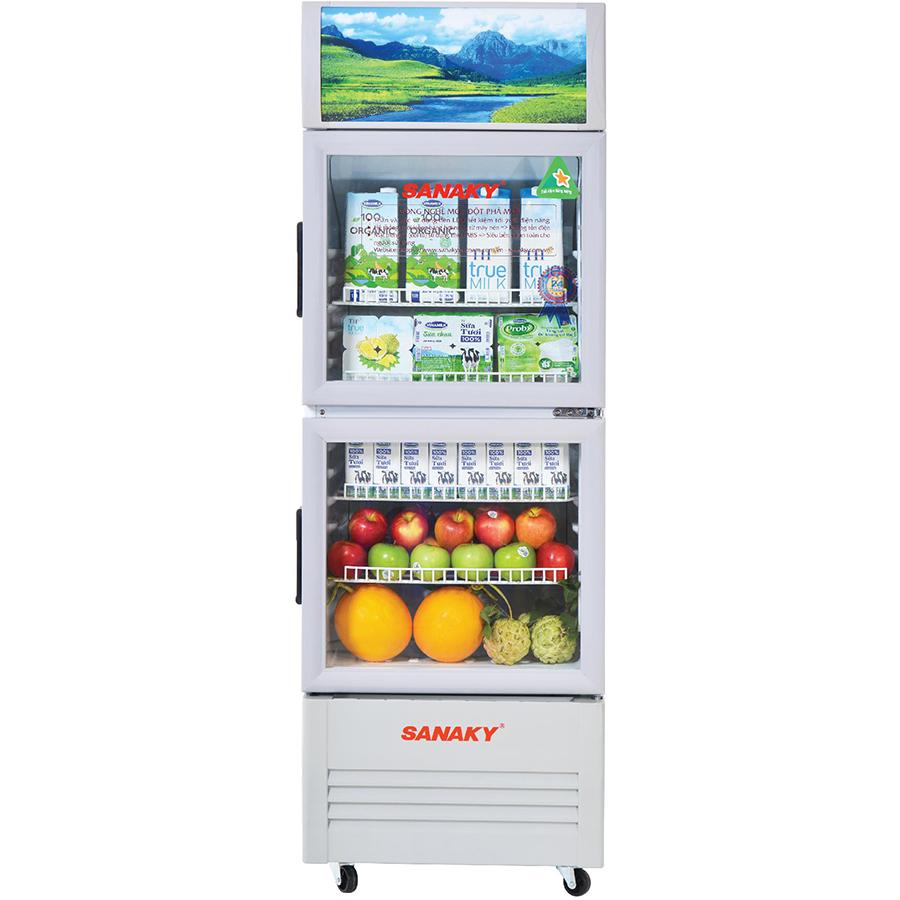 Tủ Mát Sanaky VH-308WL (240L) - Hàng Chính Hãng - Chỉ giao tại HCM
