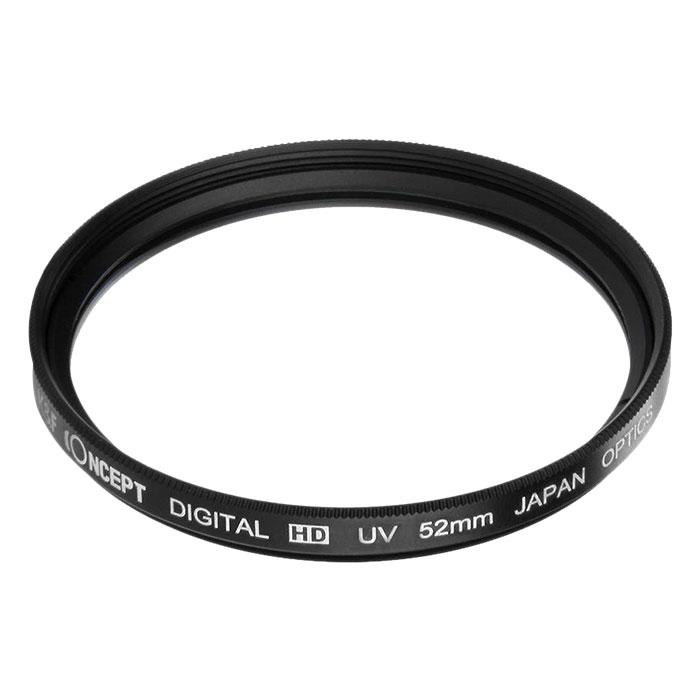 Kính lọc K&F Concept filter Slim UV Digital HD - Japan Optic - Size 72mm (Đen) - Hàng Nhập Khẩu