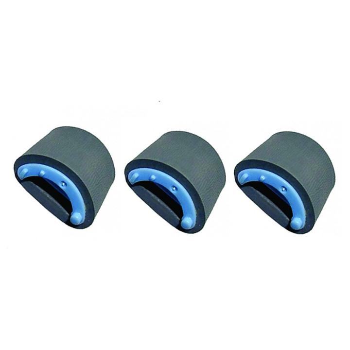 [Bộ 3 Cái] Bánh xe kéo giấy máy in HP 1010,1020, Canon LBP-2900,3000 - Hàng nhập khẩu