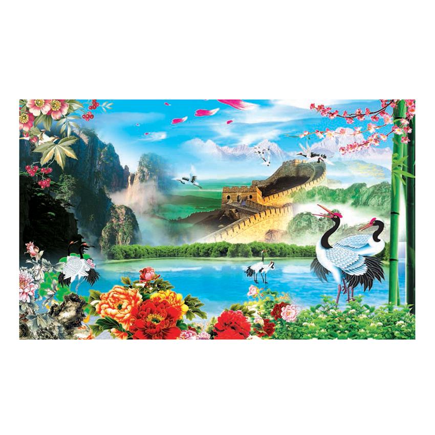 Tranh Dán Tường Sơn Thủy 3D ST0160