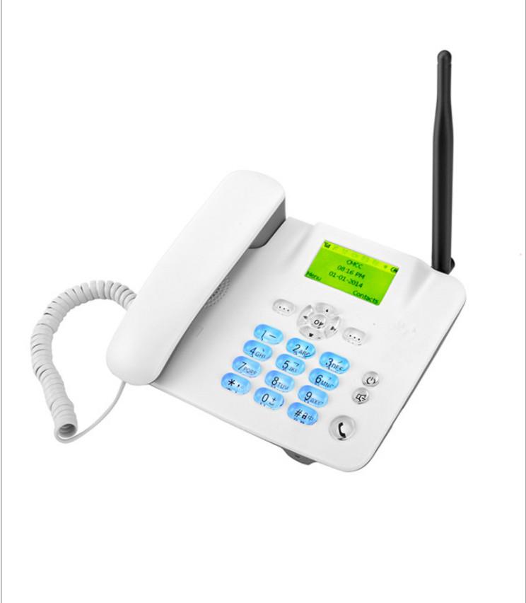 Điện thoại bàn cố định không dây lắp các loại Sim Di động, Cố định (Viettel, Vinaphone, Mobifone...)