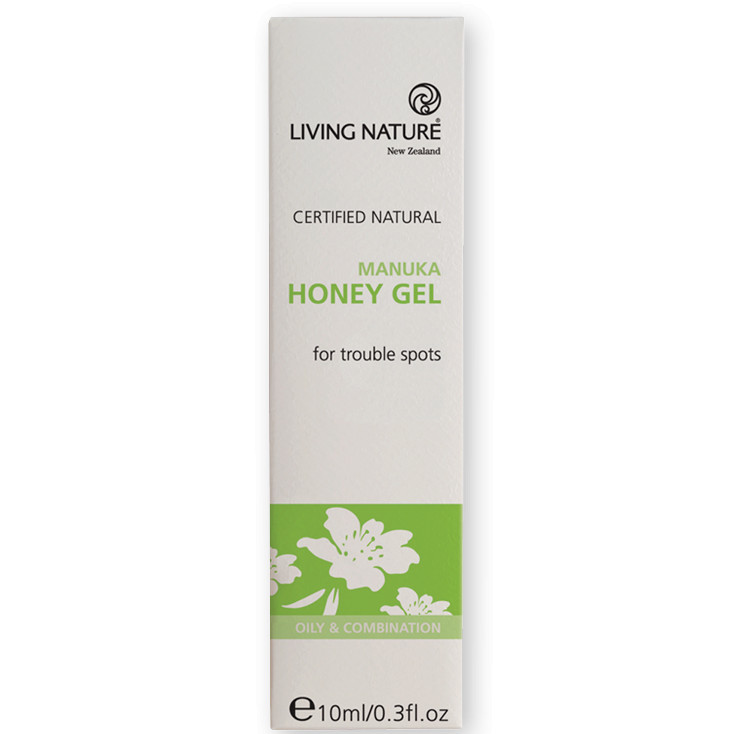 Gel Hỗ Trợ Trị Mụn Living Nature Manuka Honey Gel 10ml