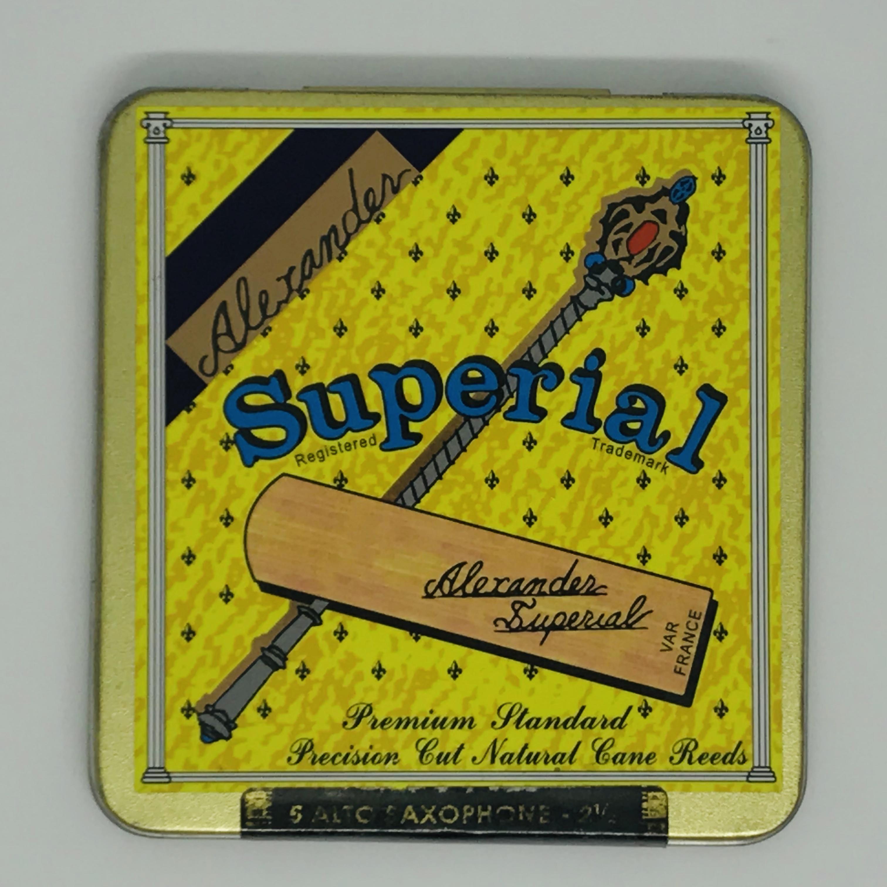 Dăm kèn Saxophone Alto Alexander Superial  3.0 ( 5 chiếc )