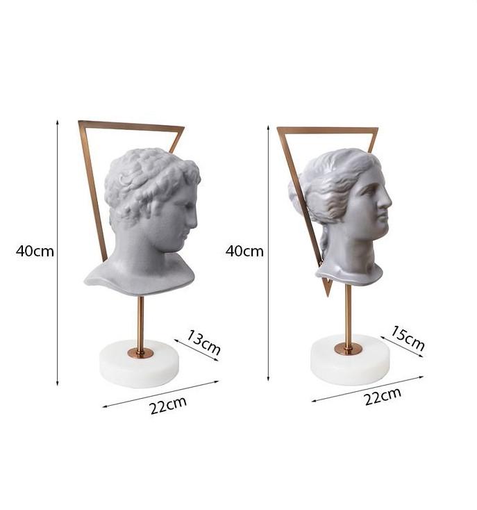 Tượng bán thân thần thoại La Mã Apollo Belvedere