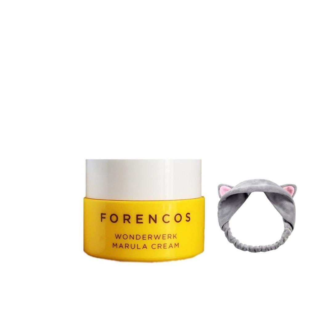 Kem Dưỡng Da Ban Đêm Forencos Wonderwerk Marula Cream MINISIZE 10ml +Tặng Băng Đô (màu ngẫu nhiên)