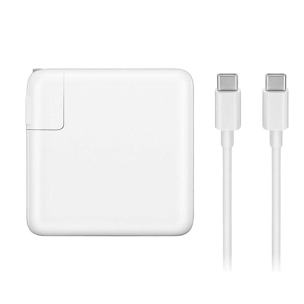 Sạc  Adapter  dành cho Macbook Type-C 87W Apple MNF82 Trắng