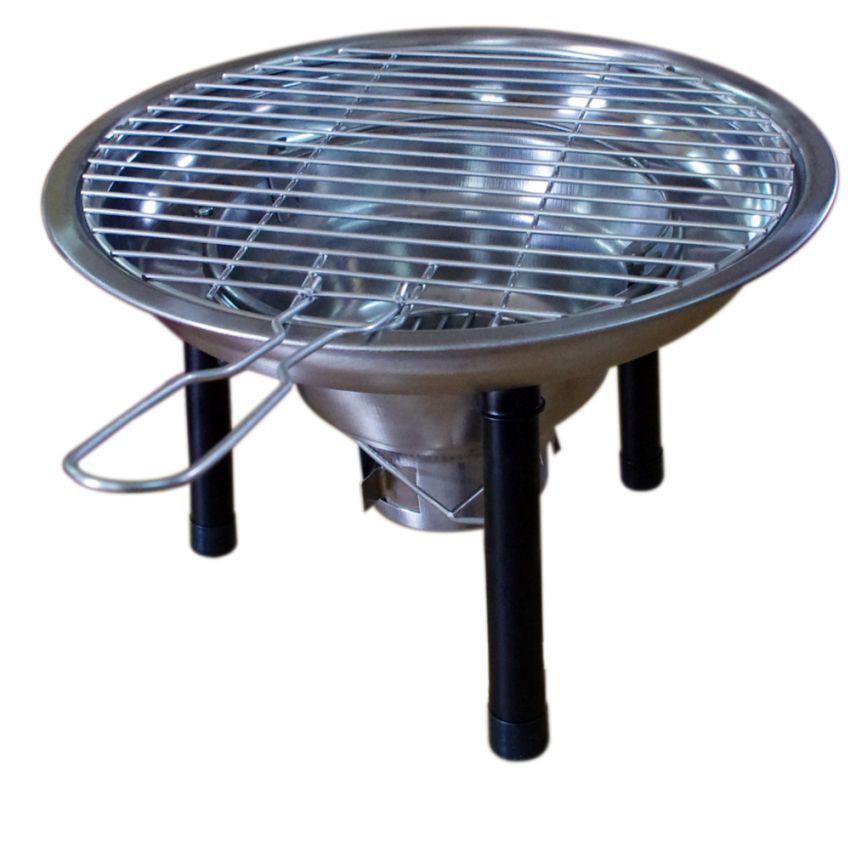 Bếp nướng than hoa ngoài trời K314 - Vỉ Giao Ngầu Nhiên