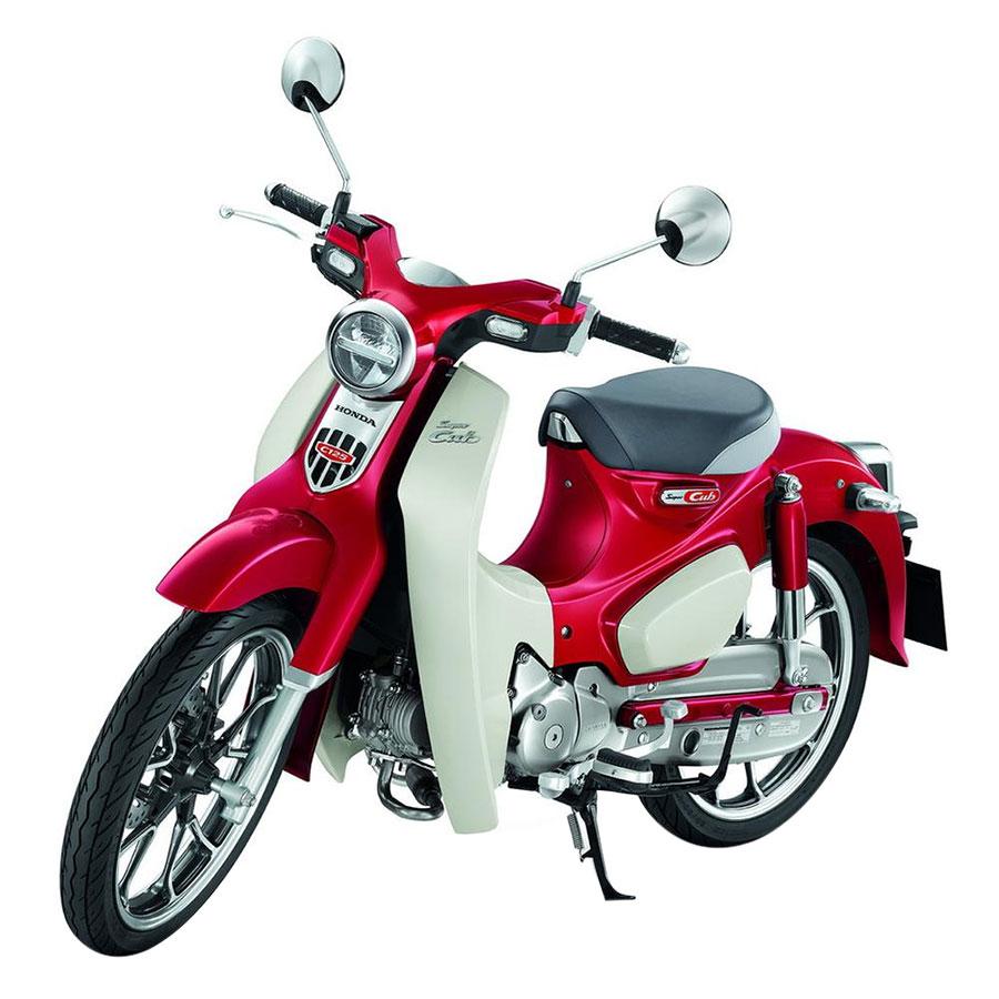 Xe máy Honda Super Cub C125 - Đỏ trắng