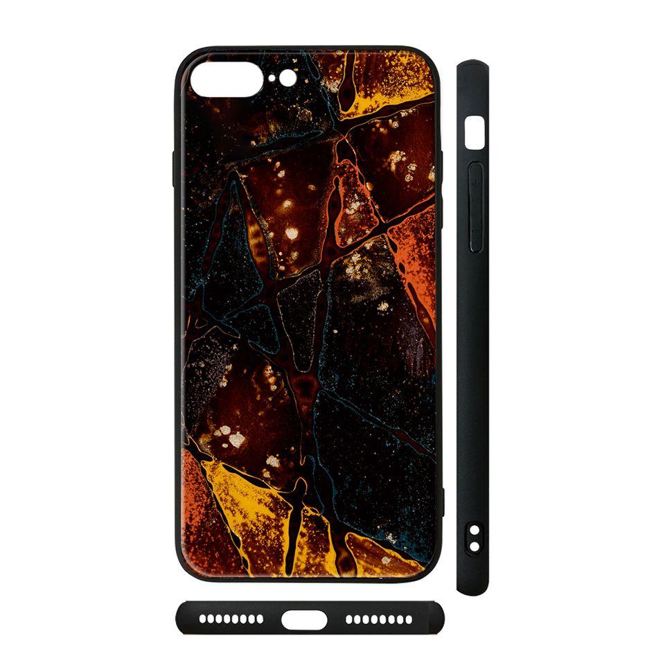 Ốp kính cho iPhone in hình Trực Cảm - lsm053 có đủ mã máy - iPhone 6 - 6s