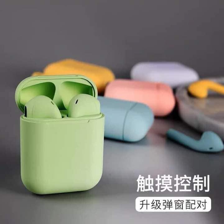 Tai Nghe Bluetooth Iponds 12 Cảm Ứng Vân Tay