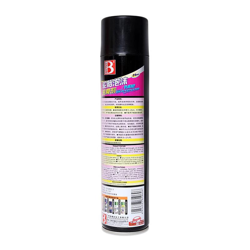 Bình Xịt Bảo Vệ Và Làm Mát Lốp Botny (650ml)