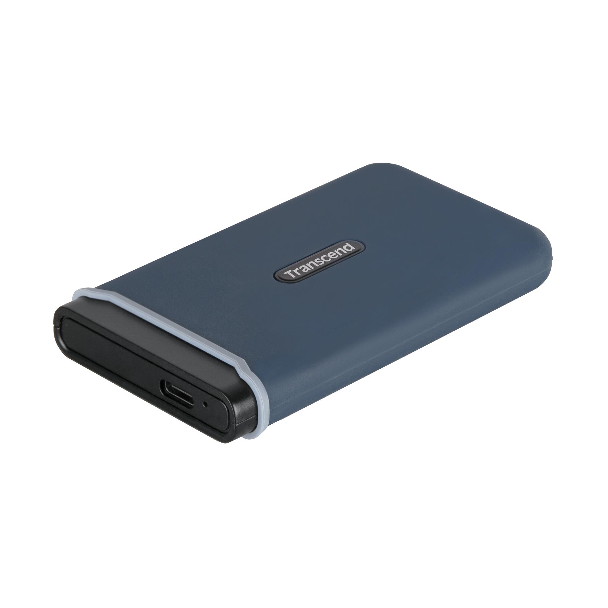 Ổ Cứng Di Động SSD Transcend ESD350C 240GB TLC USB 3.1 - TS240GESD350C - Hàng Chính Hãng