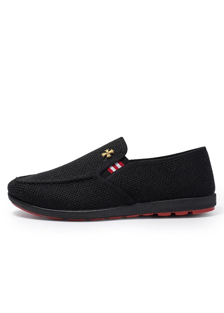 Giày Lười Vải Nam Kiểu Dáng Công Sở Ôm Chân DONSUPER