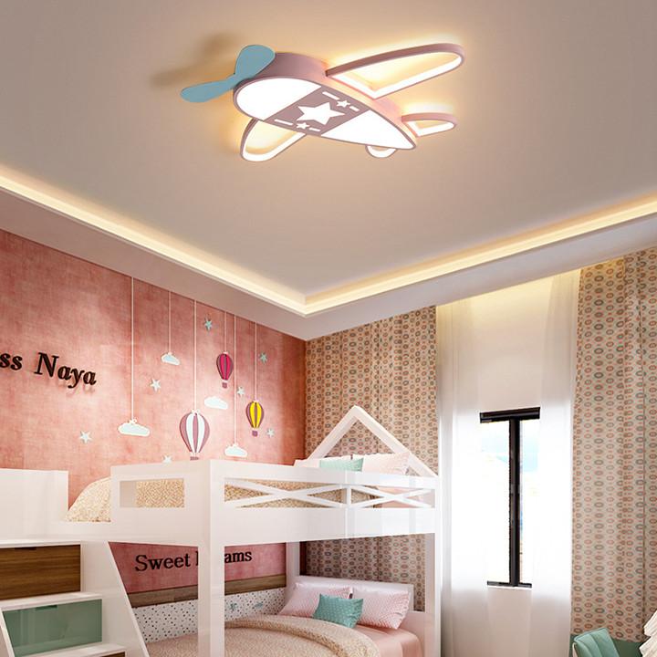 Đèn trần hình máy bay, đèn trần phòng ngủ cho bé PH-D001(màu ngẫu nhiên)