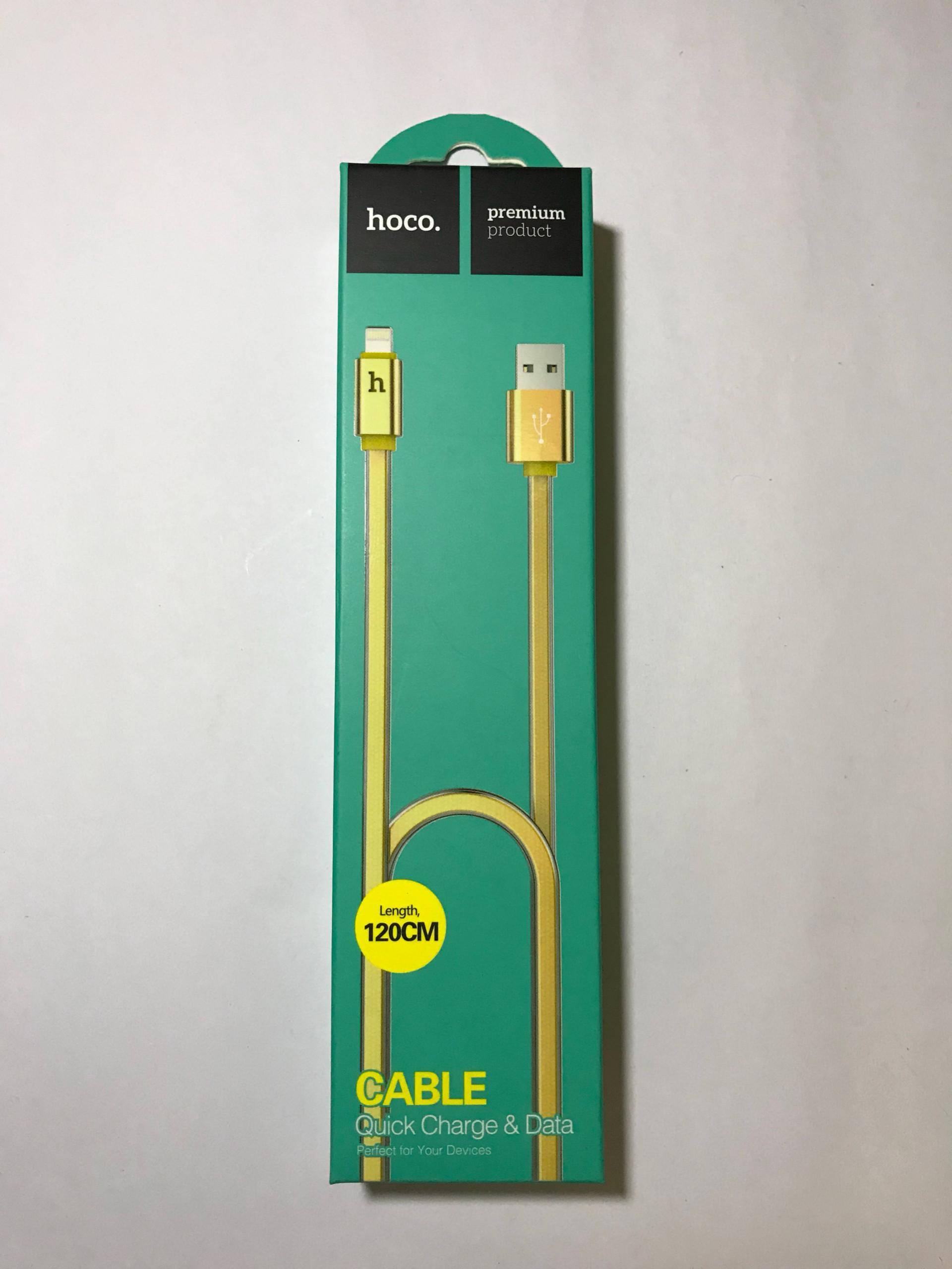 Cáp sạc Lightning cho iPhone, iPad Hoco ULP12 - Hàng Chính Hãng
