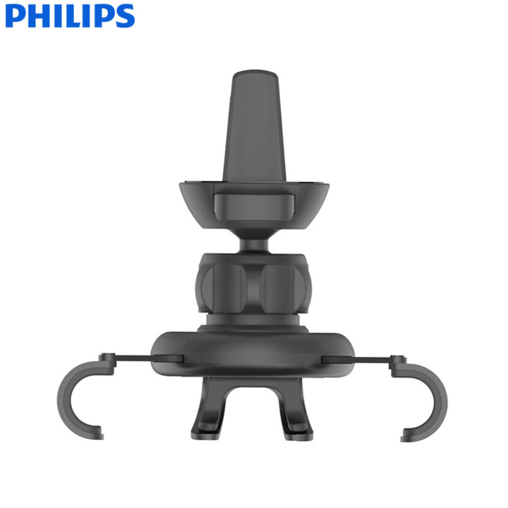 Giá đỡ điện thoại cài hốc gió trên ô tô cao cấp Philips DLK3412 - Hàng nhập khẩu