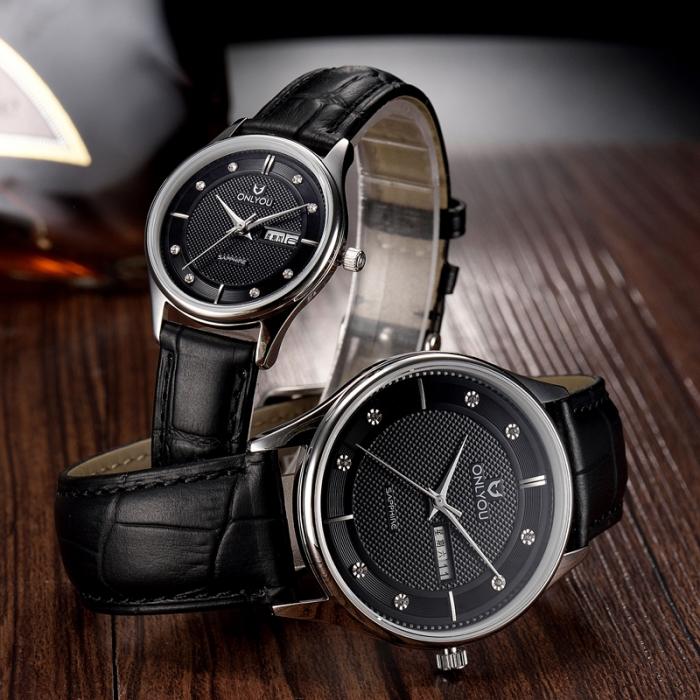 Đồng hồ Onlyou Nữ U1015LB Dây Da 30mm