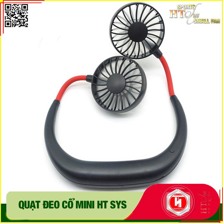 Quạt mini đeo cổ 360 độ HT SYS  - 1200mAh- Style Hàn Quốc - Hàng Nhập Khẩu