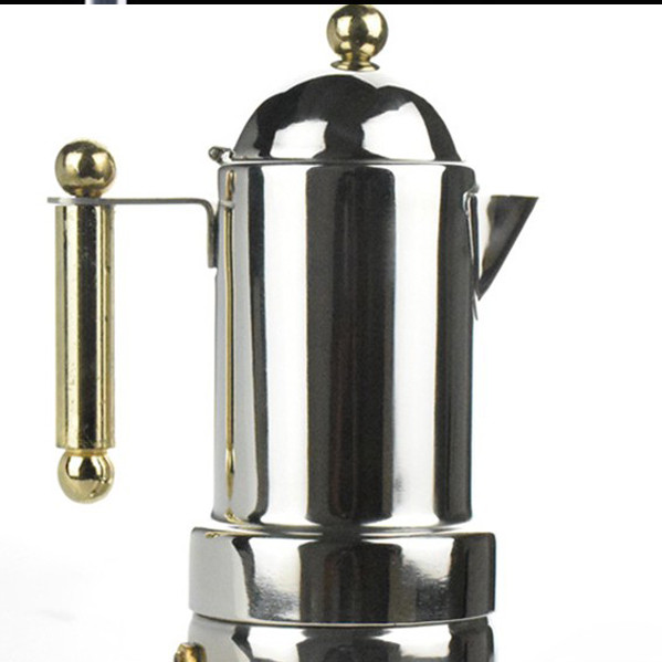 Bình pha cafe moka chuẩn ý 4 cup