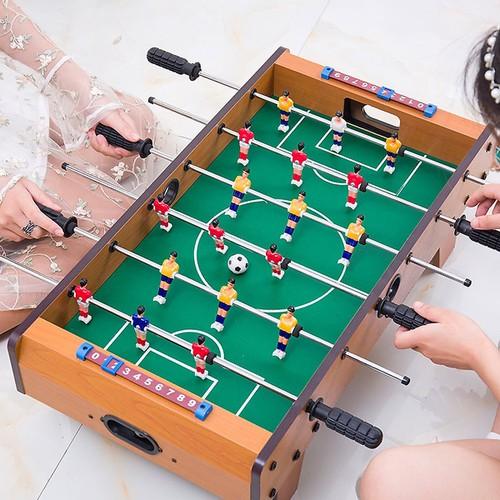 Bộ bàn bi lắc 6 Thanh cho bé, Bộ bàn bi đá banh cao cấp, Bàn bi lắc đồ chơi cho bé 50x25x16cm
