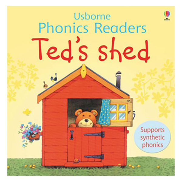 Usborne Ted's shed