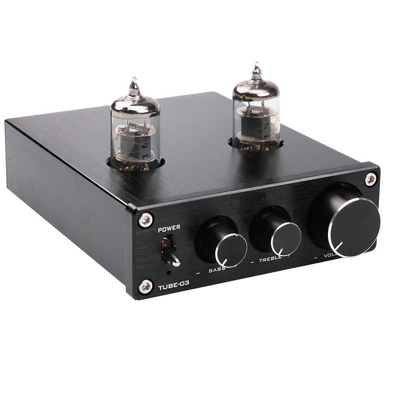 Amply đèn điện tử TUBE 03 Âm thanh HIFI Preamplifier Bile 6J1