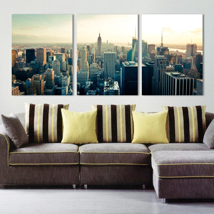 Tranh bộ- Thành phố New York-Bộ 3 khung 50*70