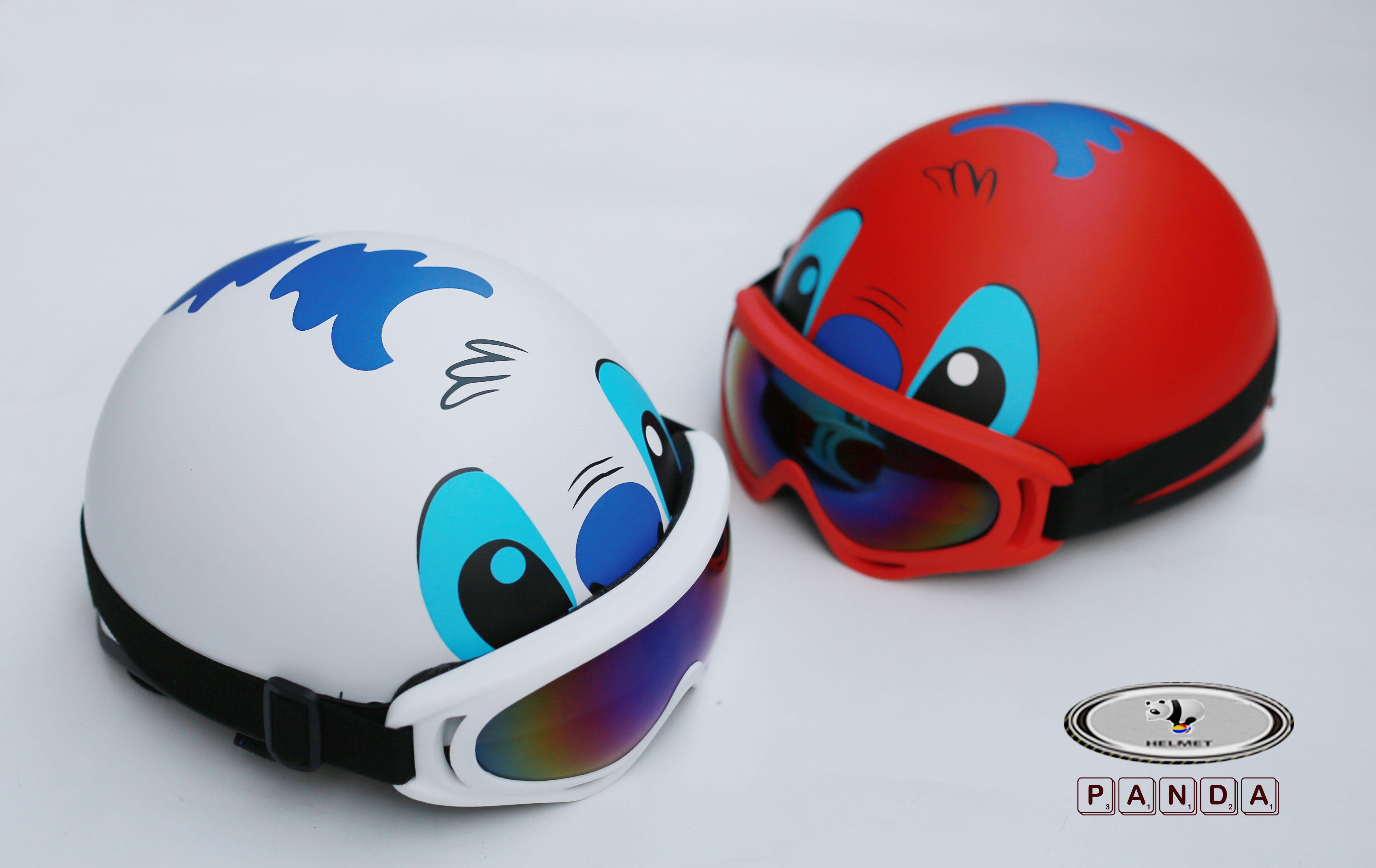 Combo Mũ Phượt Stitch + Kính X400 Viền Màu