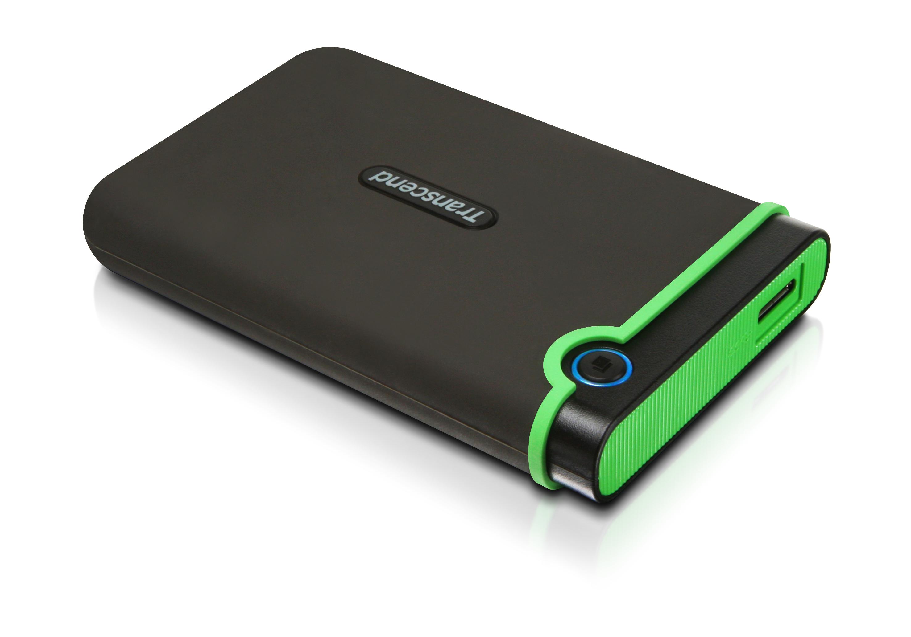 Ổ Cứng Di Động Transcend Storejet M3S 500GB USB 3.0 - TS500GSJ25M3S - Hàng chính hãng
