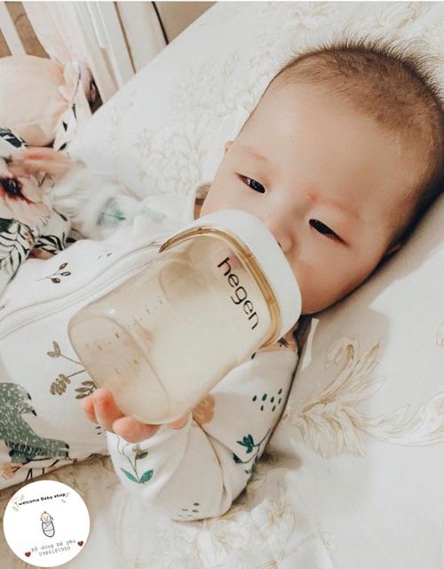 Núm ti Hegen size S dành cho bé từ 1-3 tháng tuổi