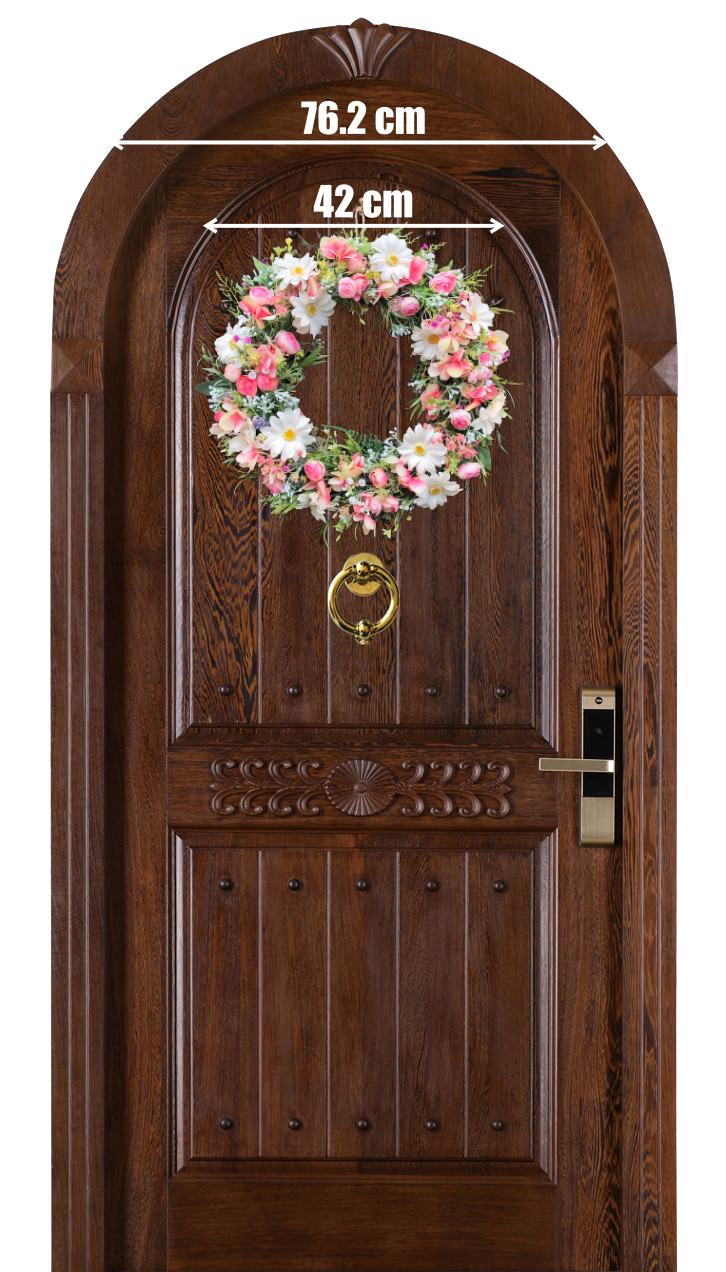 Vòng Hoa Vải Handmade V16086