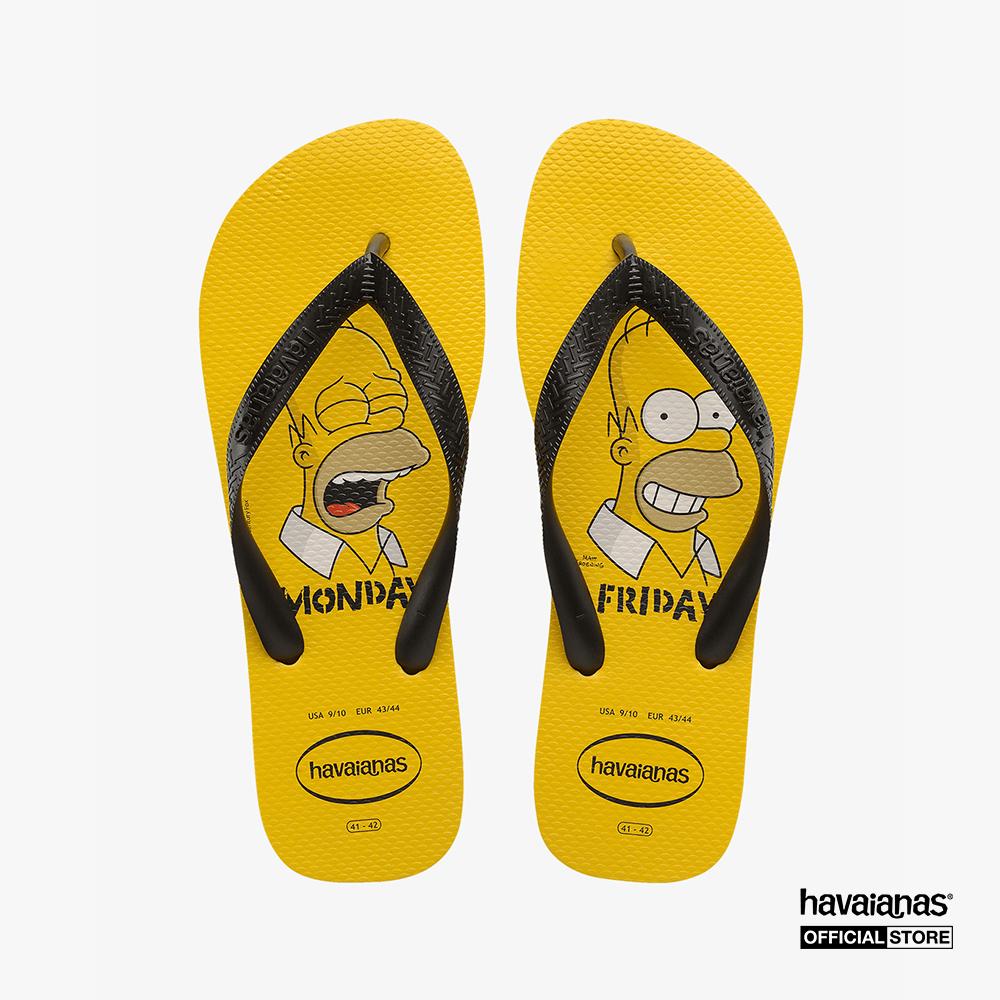 HAVAIANAS - Dép nam Simpsons 4137889-0776