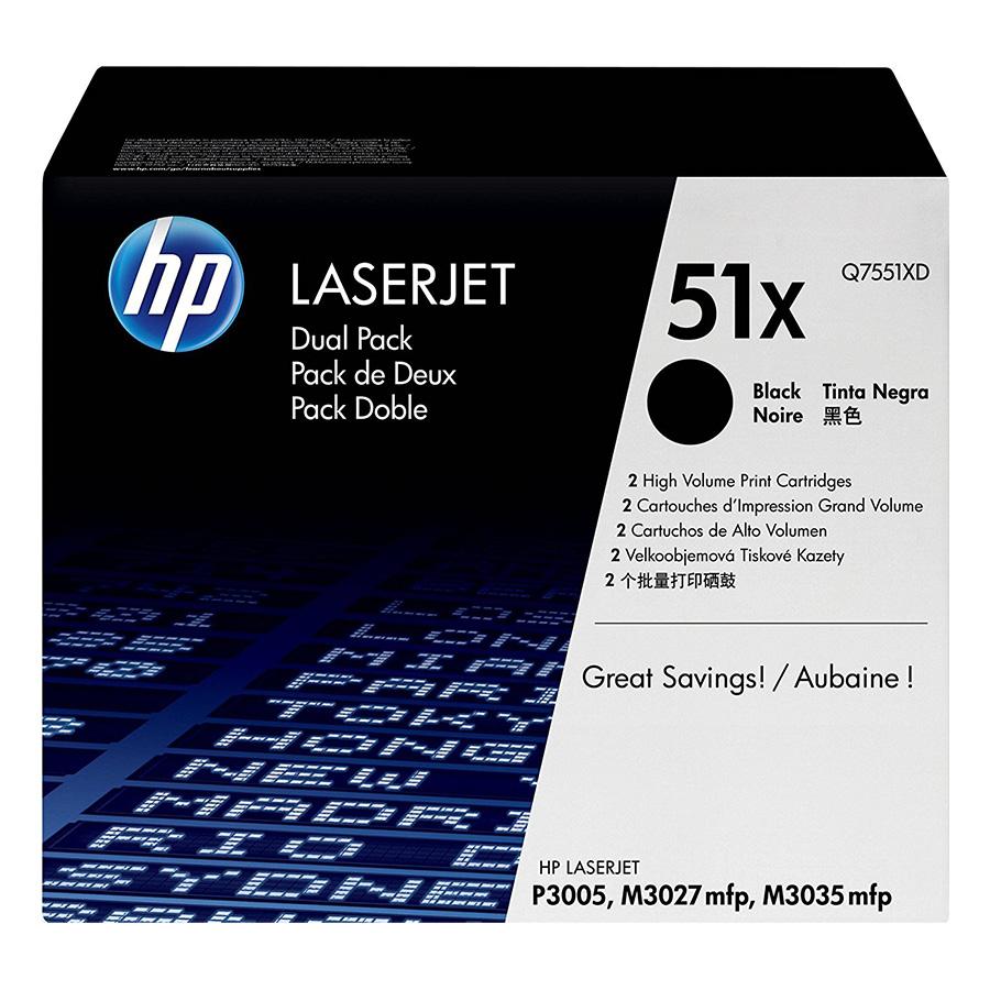 Mực In HP Q7551XD (HP 51X) Cho Máy In HP M3035xs - Hàng Chính Hãng