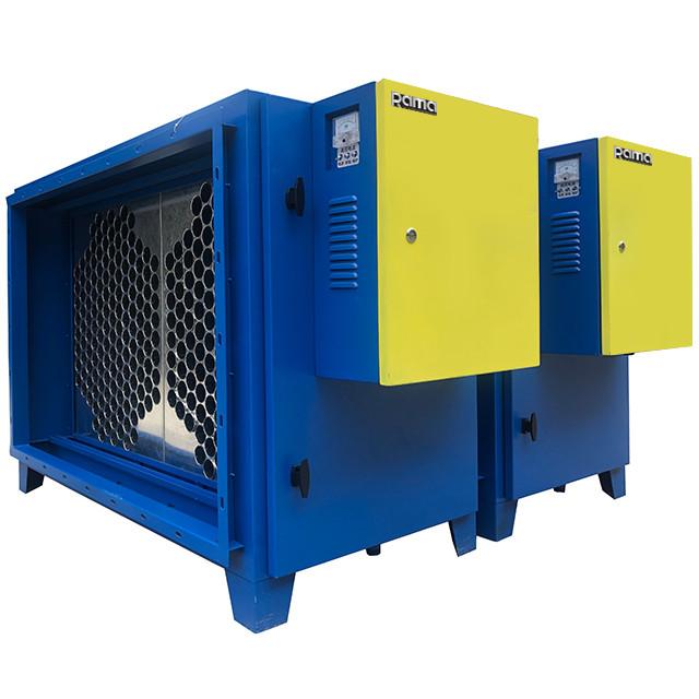 Máy lọc tĩnh điện xử lý khói bụi công nghiệp cho nhà xưởng 12000 m3/h dòng cao cấp Rama RS12000 - Hàng Chính Hãng