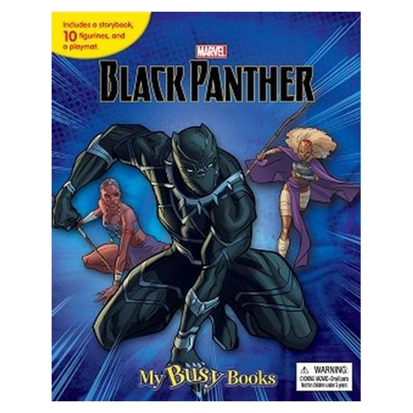 Marvel Black Panther My Busy Books