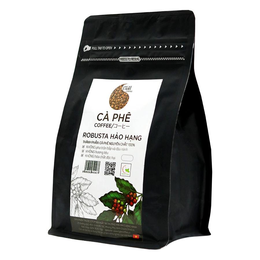Cà Phê Hạt Nguyên Chất 100 Robusta Hảo Hạng Light Coffee RHH-100 100g - 23226688 , 9327705251683 , 62_1207079 , 100000 , Ca-Phe-Hat-Nguyen-Chat-100-Robusta-Hao-Hang-Light-Coffee-RHH-100-100g-62_1207079 , tiki.vn , Cà Phê Hạt Nguyên Chất 100 Robusta Hảo Hạng Light Coffee RHH-100 100g