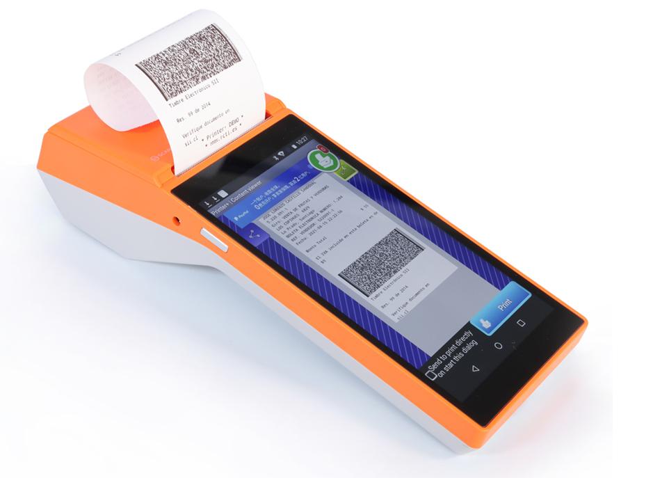 Máy POS cầm tay SP01 - Hàng nhập khẩu