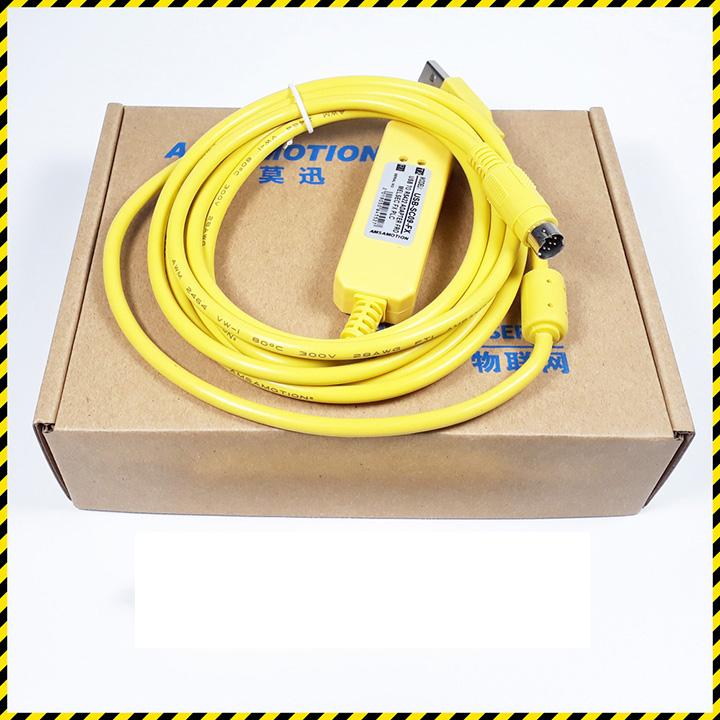 Cáp lập trình PLC USB-SC-09FX chính hãng