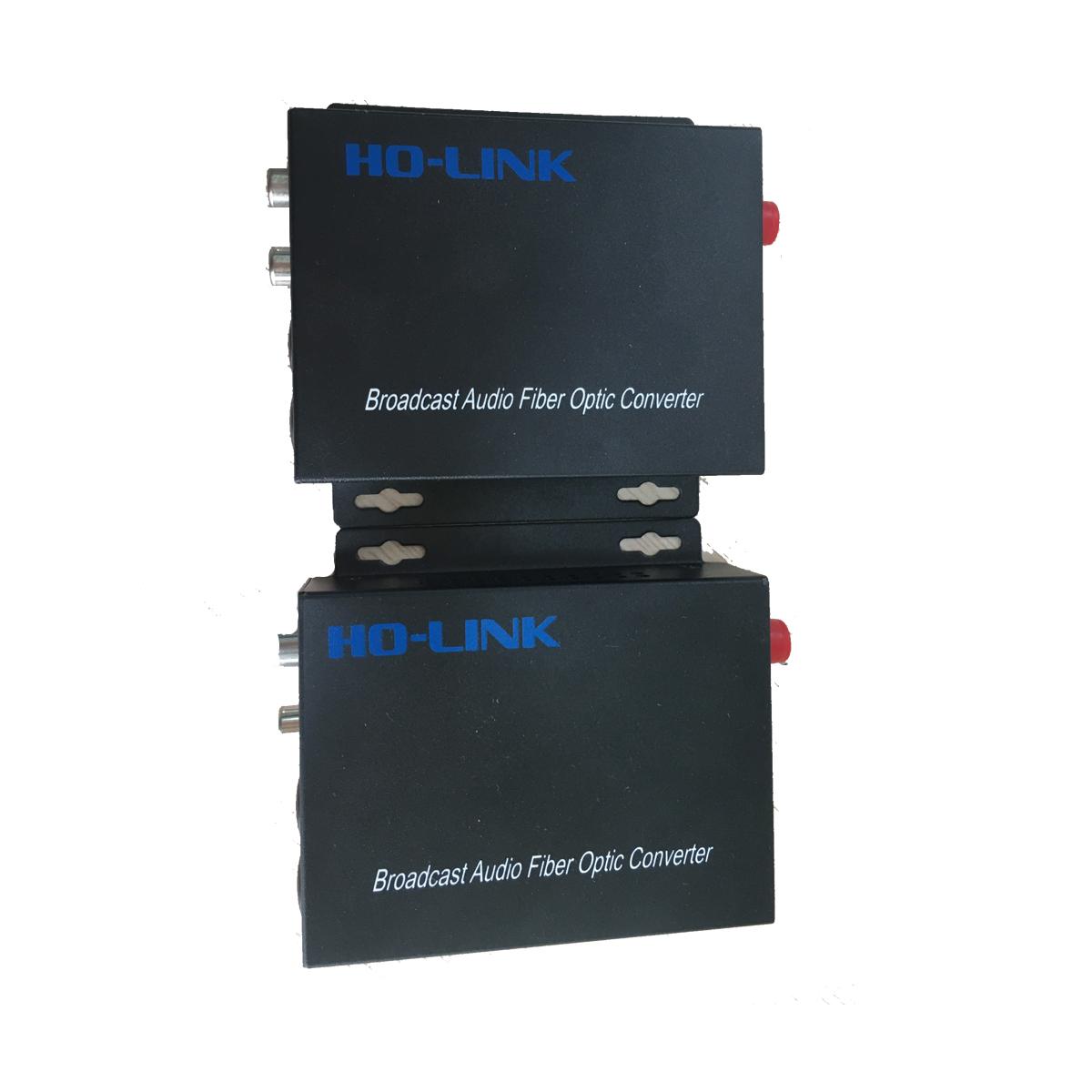 Bộ chuyển đổi audio sang quang 1 chiều Holink HL-AS-20T/R (2 thiết bị) - Hàng Chính Hãng