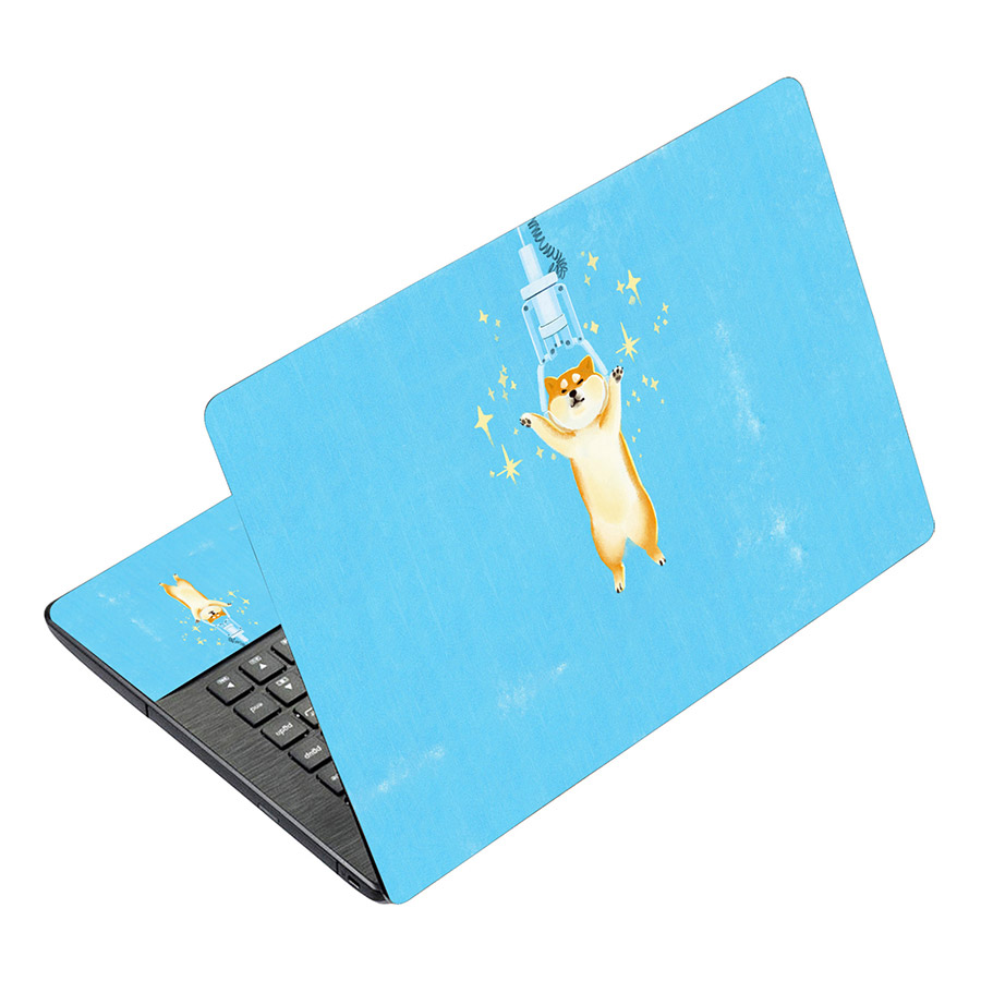 Miếng Dán Decal Dành Cho Laptop Mẫu Hoạt Hình LTHH-246