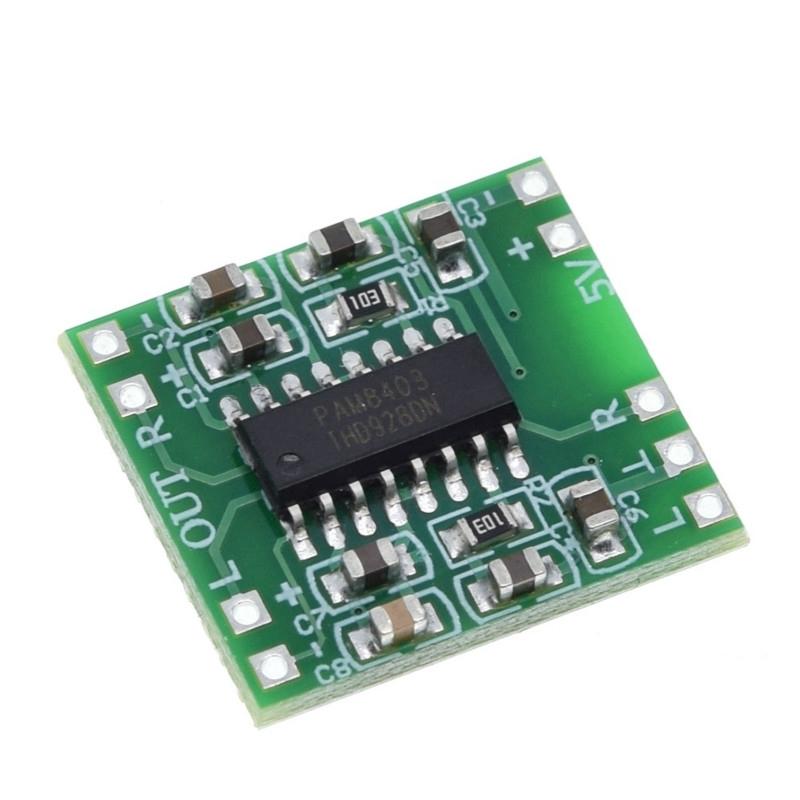 Mạch khuyếch đại âm thanh PAM8403 6W 5Volt Hifi 2.0