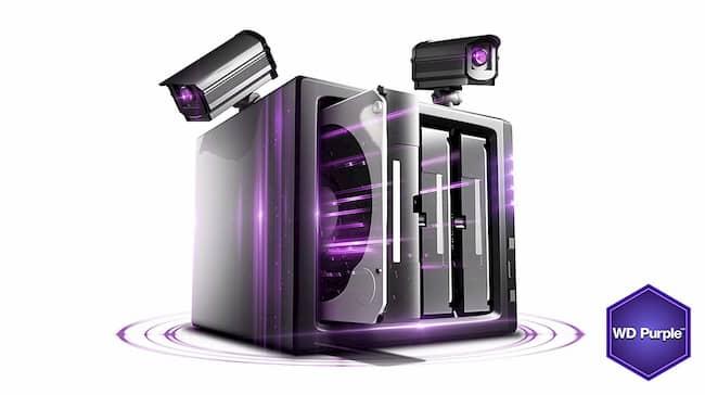Ổ Cứng WD Purple 6TB Giá Rẻ HCM