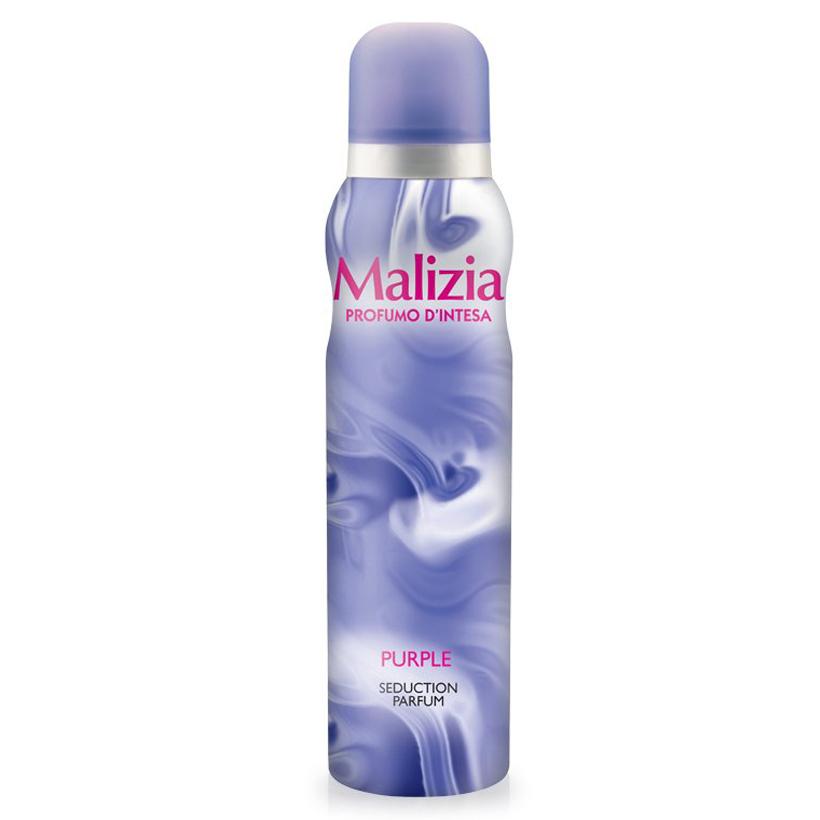 Nước hoa toàn thân Malizia Purple Seduction Parfum 150ml tặng kèm móc khóa