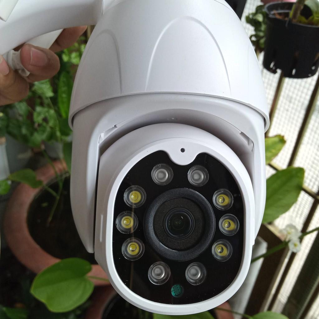 CAMERA YOOSEE PTZ 10 LED quay hồng ngoại ban đêm rõ nét hỗ trợ thẻ nhớ  tối đa 64GB - Hàng chính hãng