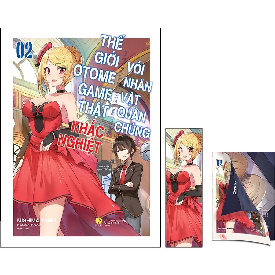 Thế Giới Otome Game Thật Khắc Nghiệt Với Nhân Vật Quần Chúng - Tập 2 (Tặng Kèm: 01 Postcard Lịch Gập 2 Mặt (22 x 16 cm) +  01 Bookmark)