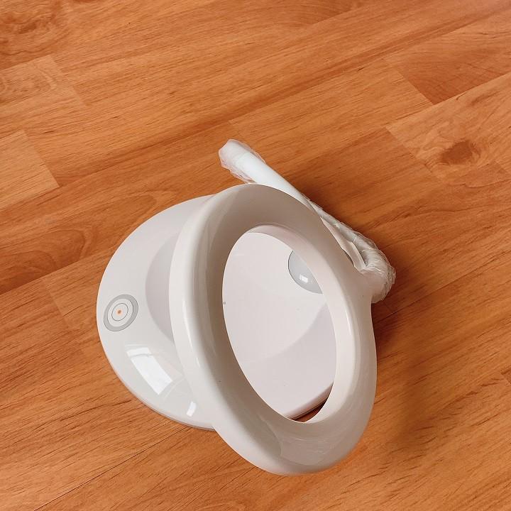 Đèn led mini tròn tích điện chuyên nối mi, phun săm, làm nail, có 3 chế độ sáng